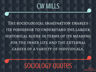 CW Mills Sociological Imagination Quotes